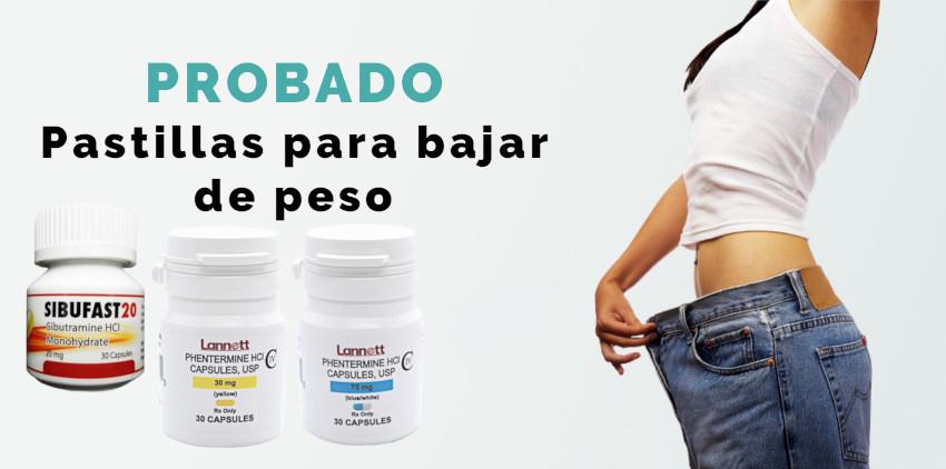 Las mejores pastillas para bajar de peso