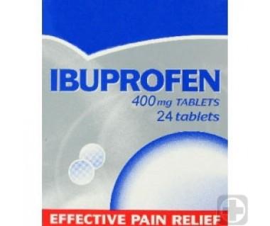 Ibuprofen Générique (Motrin) 400 mg