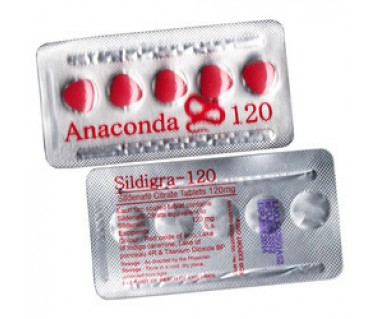 Viagra (Sildenafil) Anaconda 120mg