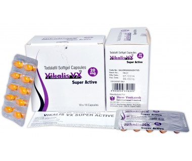 Cialis Super Active Générique 20 mg