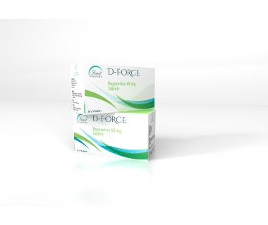 D-force Dapoxetine 60 mg