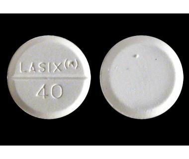 Lasix (furosemide) 40 mg