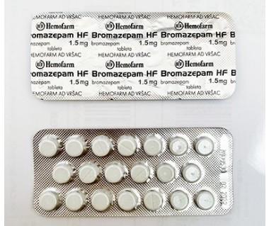 Bromazepam by Hemofarm 1.5 mg