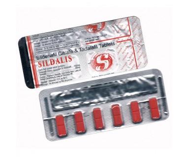 Силдалис (Силденафил 100мг + Тадалафил 20 мг)
