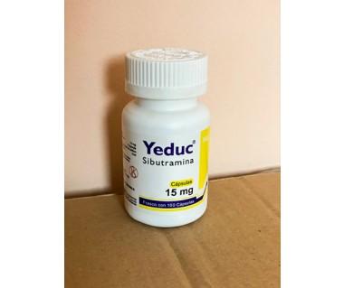 Generic Reductil Sibutramine YEDUC 15 mg R
