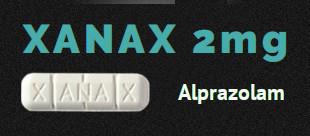 Xanax Alprazolam 2mg